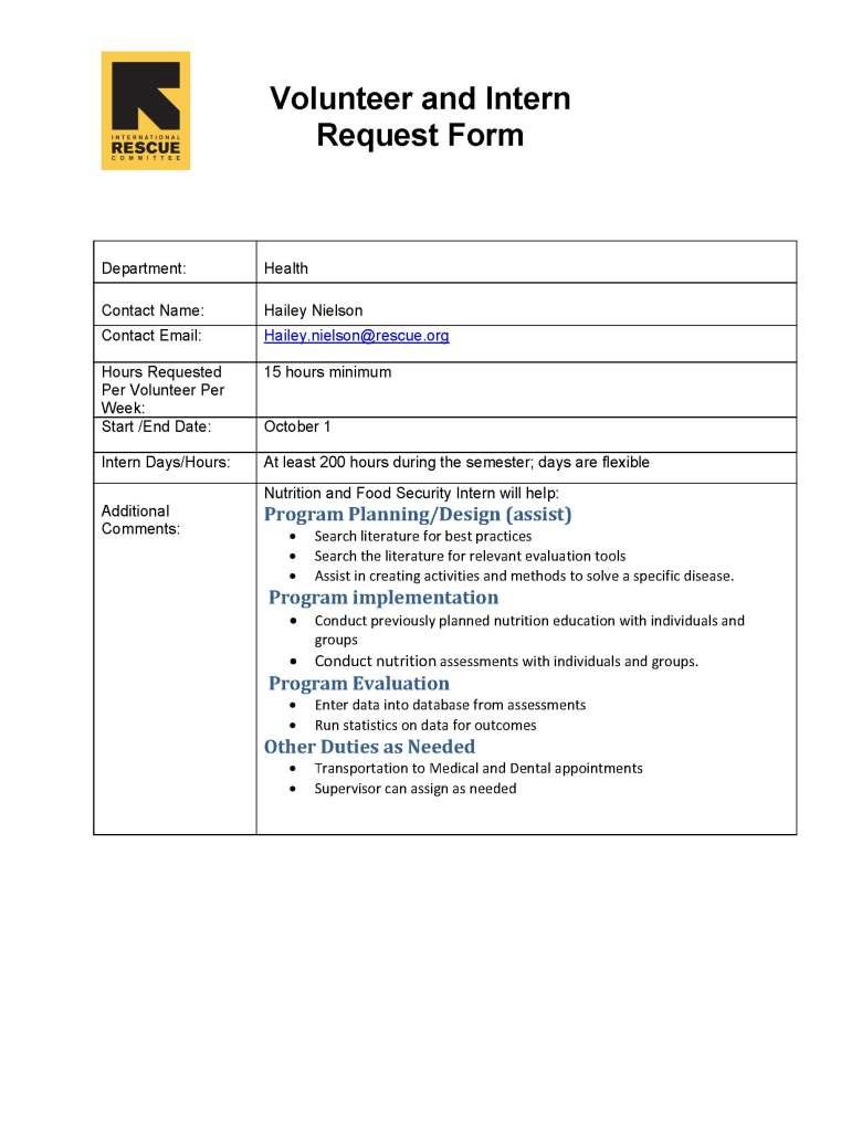 sample cover letter social work internship